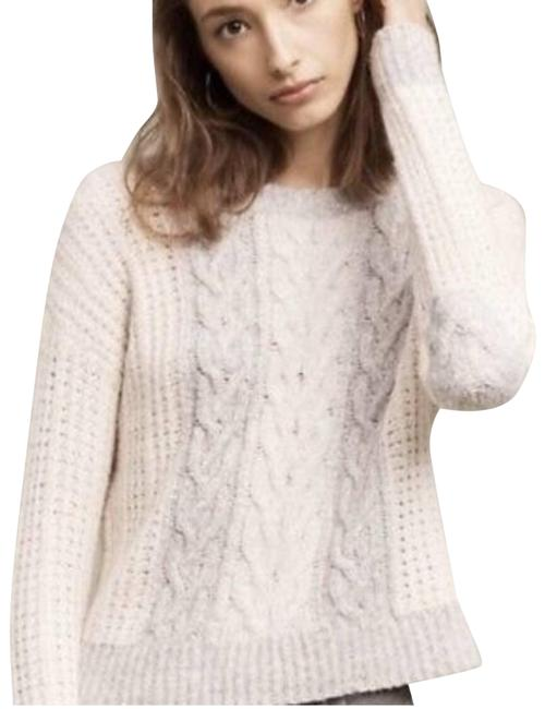 Item - Sleeping On Snow Cable Knit White Sweater