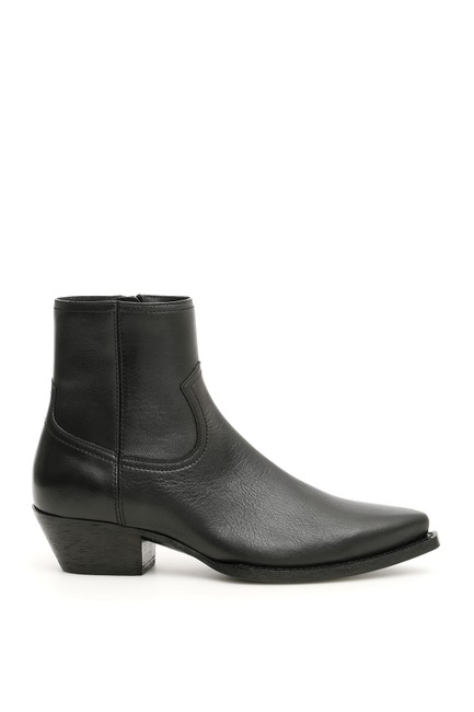 Saint Laurent Black Lukas 40 Boots/Booties Size EU 37 (Approx. US 7) Regular (M, B) Saint Laurent Black Lukas 40 Boots/Booties Size EU 37 (Approx. US 7) Regular (M, B) Image 1