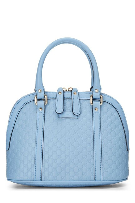 Item - Dome Messenger Hobo Monogram ssima Tote Light Blue Leather Cross Body Bag