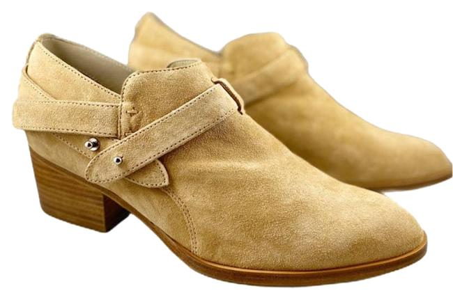 Item - Tan Harley Ankle Dune Camel Italian Suede 10 Boots/Booties Size EU 40 (Approx. US 10) Regular (M, B)