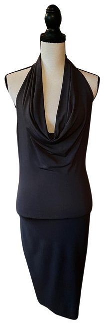 Item - Grey 123456 Mid-length Night Out Dress Size 2 (XS)