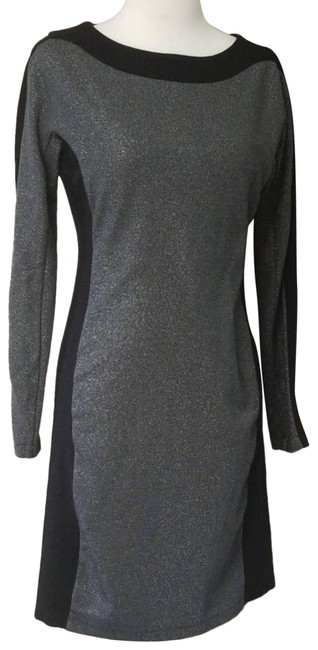 Item - Silver Sage Boatneck Long Sleeve Night Out Dress Size 10 (M)