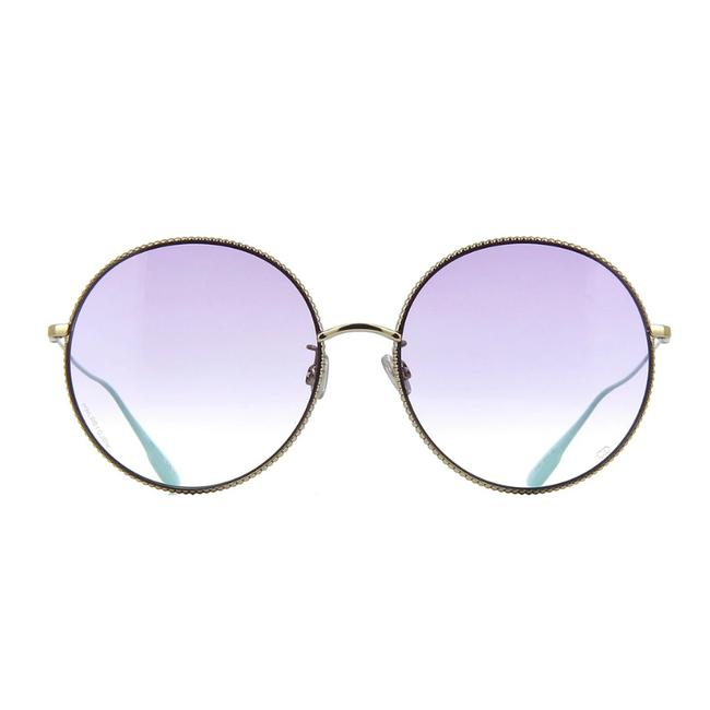 Item - Gold/Violet society2f 3ygso Light Gold/Violet Gradient Sunglasses