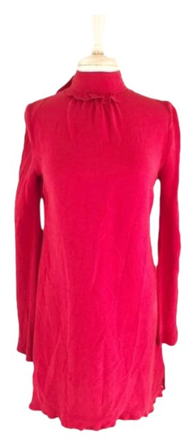 Item - Red Crimson Open Back High / Small Night Out Dress Size 4 (S)