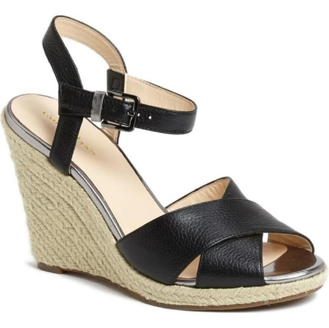 Item - Black Hart Sandal Wedges Size US 10.5 Regular (M, B)
