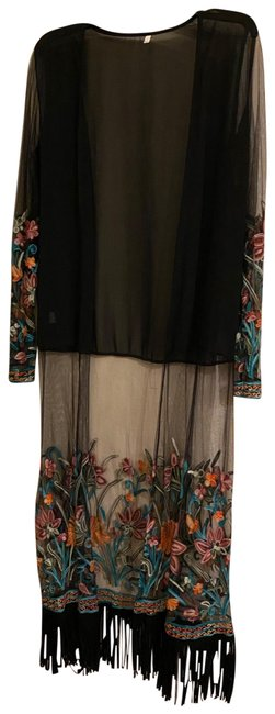 Item - Black Cardigan Cover-up/Sarong Size OS (one size)