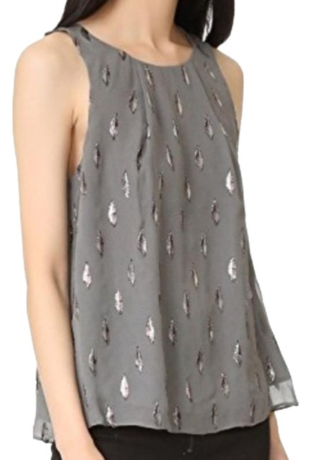Item - Silver Gray Kastra Blouse Size 8 (M)