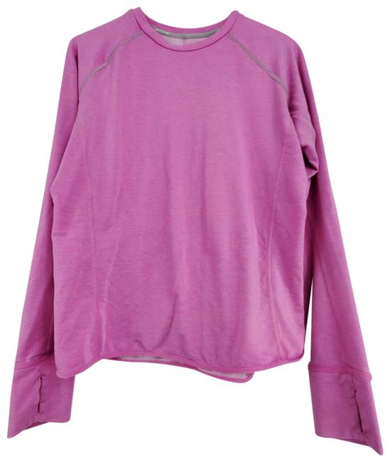 Item - Pink Dri Fit Crew Neck Base Layer Activewear Top Size 8 (M)