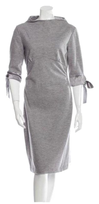 Item - Gray Doncianni Mid-length Work/Office Dress Size 2 (XS)