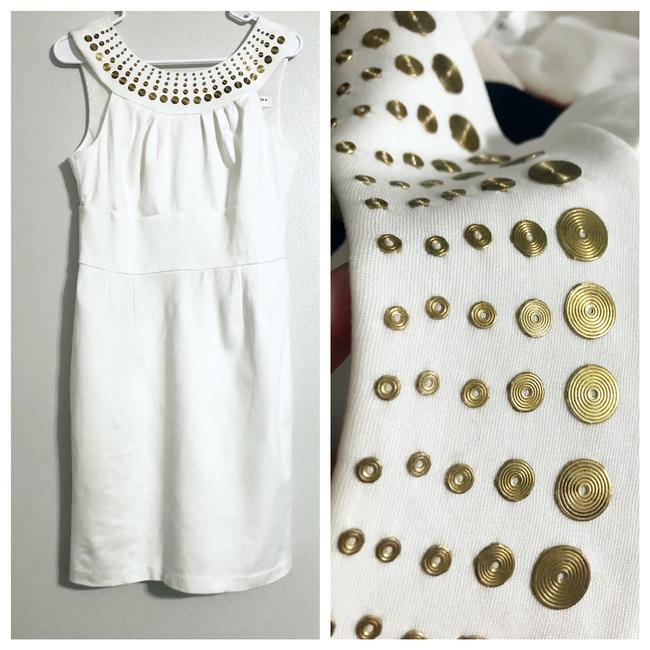 Item - Off White Short Casual Dress Size 6 (S)