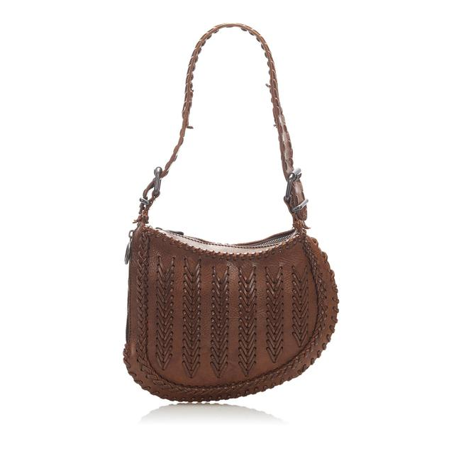 Item - Oyster Brown Leather Hobo Bag