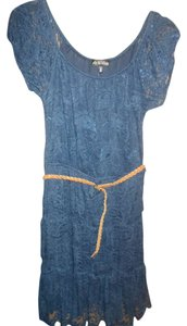 As U Wish short dress Blue lace on Tradesy