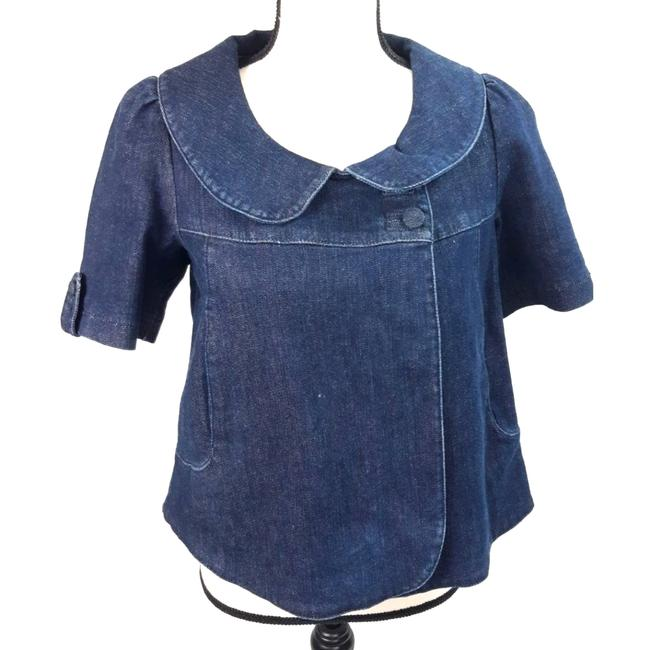 Item - Blue Freedom XS Choice Jean Top Jacket Size 0 (XS)