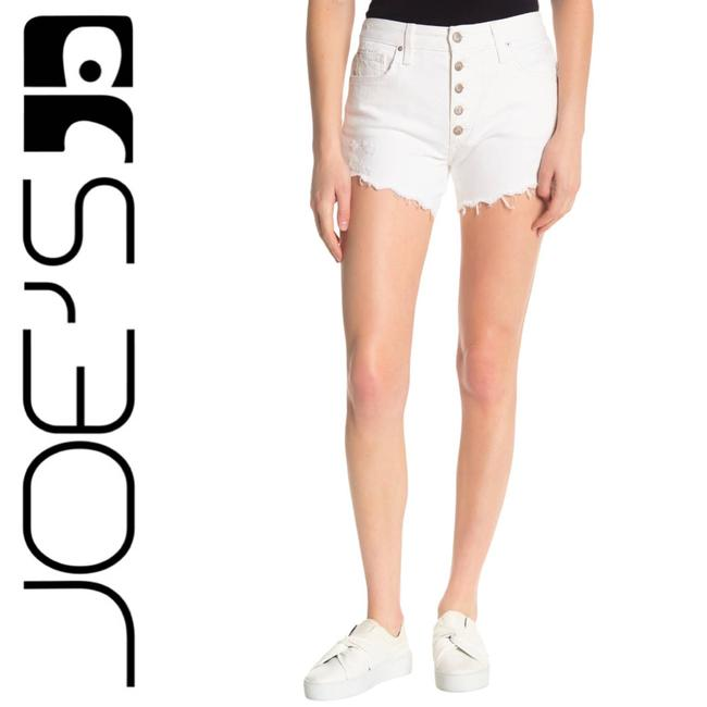 Item - White The Smith High-rise W29 Shorts Size 8 (M, 29, 30)