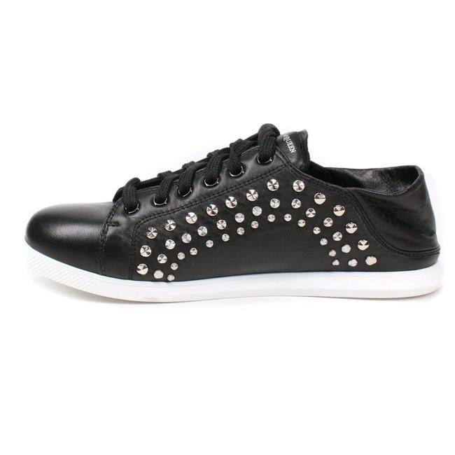 Alexander McQueen Black New: Studded Mules - Leather - Sneakers Size EU 37 (Approx. US 7) Regular (M, B) Alexander McQueen Black New: Studded Mules - Leather - Sneakers Size EU 37 (Approx. US 7) Regular (M, B) Image 6