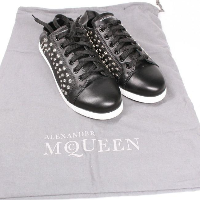 Alexander McQueen Black New: Studded Mules - Leather - Sneakers Size EU 37 (Approx. US 7) Regular (M, B) Alexander McQueen Black New: Studded Mules - Leather - Sneakers Size EU 37 (Approx. US 7) Regular (M, B) Image 7