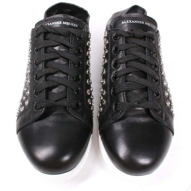 Alexander McQueen Black New: Studded Mules - Leather - Sneakers Size EU 37 (Approx. US 7) Regular (M, B) Alexander McQueen Black New: Studded Mules - Leather - Sneakers Size EU 37 (Approx. US 7) Regular (M, B) Image 8