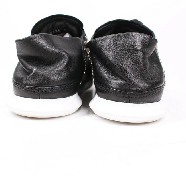 Alexander McQueen Black New: Studded Mules - Leather - Sneakers Size EU 37 (Approx. US 7) Regular (M, B) Alexander McQueen Black New: Studded Mules - Leather - Sneakers Size EU 37 (Approx. US 7) Regular (M, B) Image 9