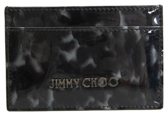 Item - Black / Gray Patent Leather Card Wallet