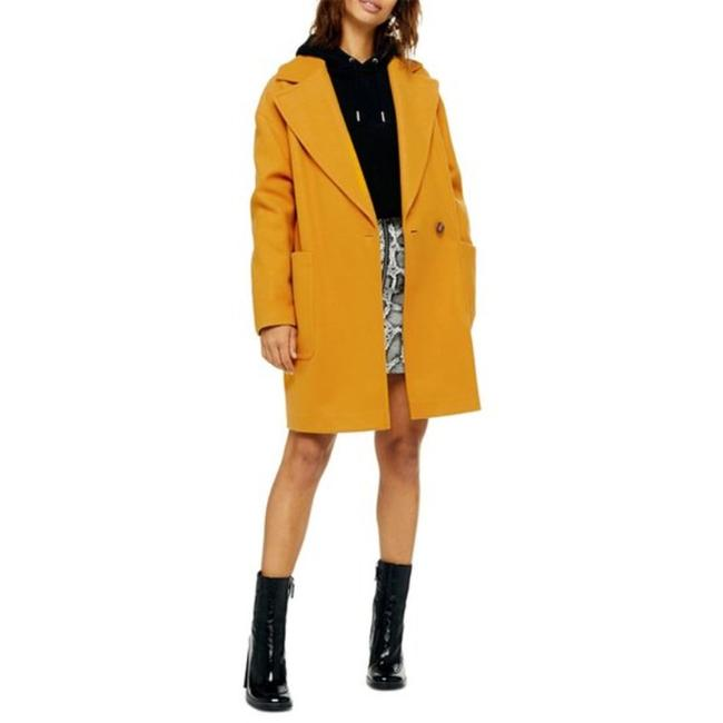 Item - Yellow Gold Carly Coat Size 12 (L)
