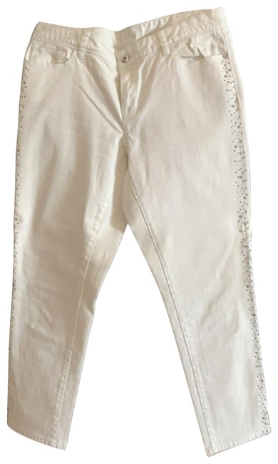Item - White Medium Wash No Straight Leg Jeans Size 10 (M, 31)