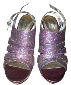 Style & Co Purple glitter Pumps