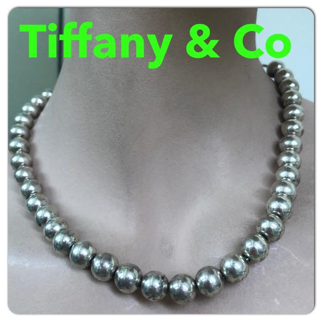 Item - Sterling Silver Co Bead Necklace