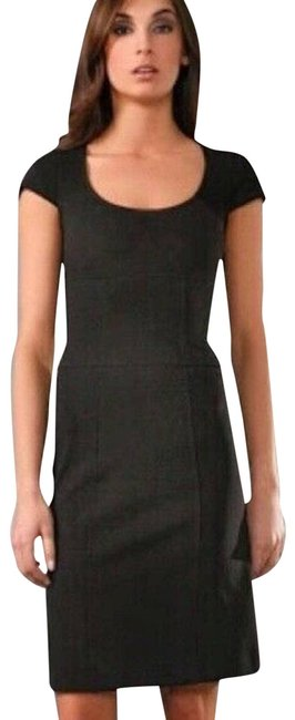 Item - Black XS Dvf Domino Sheath Knee Length Short Casual Dress Size 2 (XS)
