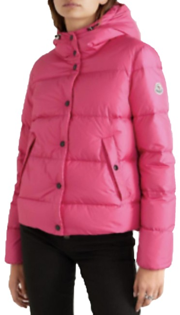 Item - Pink Lena Hooded Down Puffer Jacket Coat Size 4 (S)