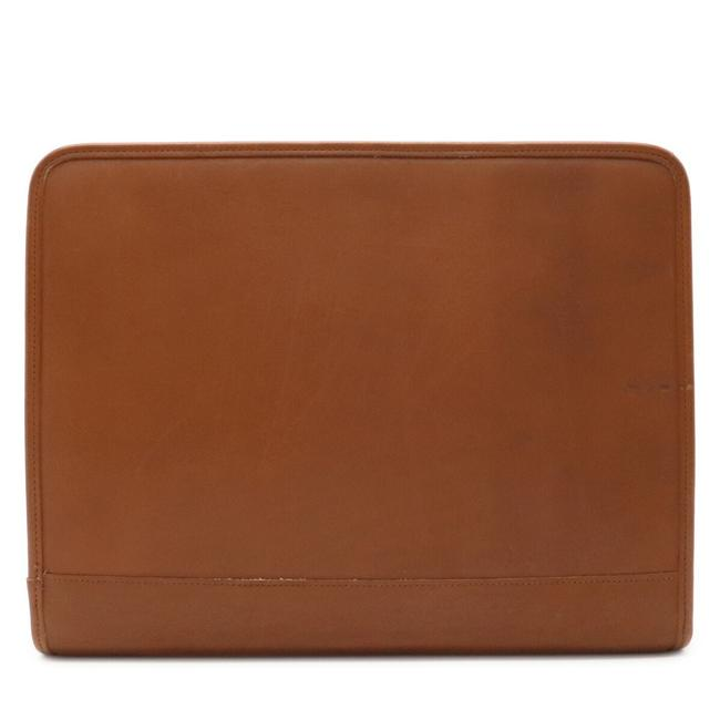 Item - Second Gold Hardware Camel Leather Clutch