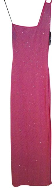Preload https://img-static.tradesy.com/item/288607/pink-sequined-gown-long-formal-dress-size-4-s-0-0-650-650.jpg
