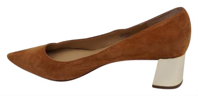 Item - Tan Suede Leather Pointed Toe Pumps Size US 9.5 Regular (M, B)