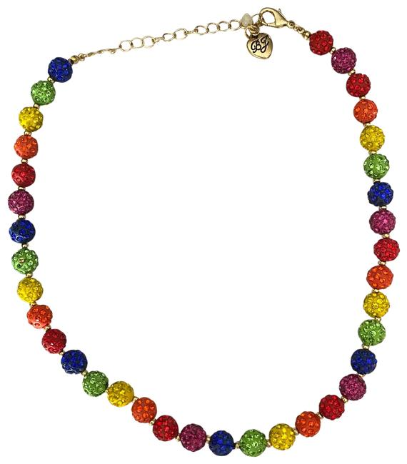 Item - Rainbow Fireball Collar Necklace