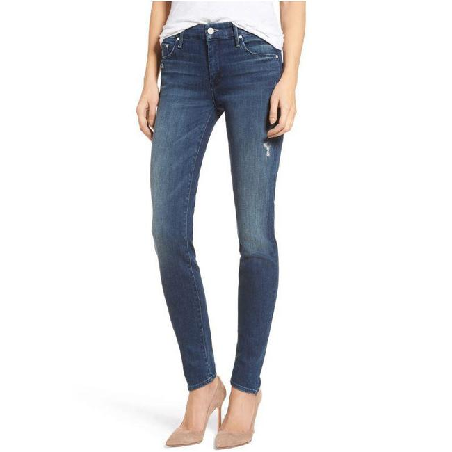 Item - Blue Distressed The Looker Skinny Jeans Size 25 (2, XS)