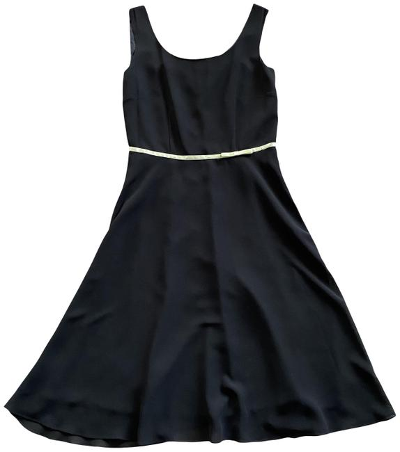 Item - Multicolor -agb- Byer California Sleeveless Small Bow Waist Accent Lined Cocktail Dress Size 8 (M)