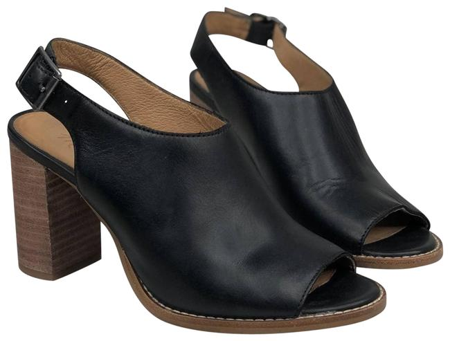Item - Black The Cary Slingback Bootie Heels Pumps Size US 6 Regular (M, B)