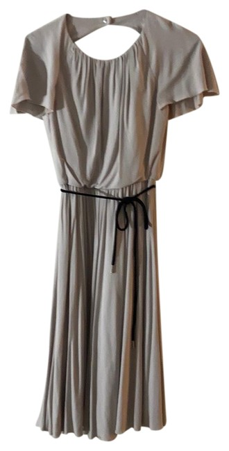 Item - Light Gray Mid-length Formal Dress Size 4 (S)