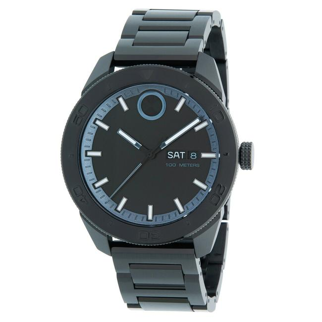 Item - Black Bold Stainless Bracelet Mens Quartz 3600512 Watch
