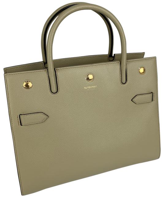 Item - New Small 8024689 Beige Leather Satchel