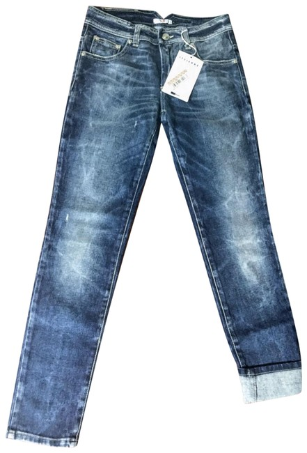 Item - Blue Medium Wash On Attached Tags Straight Leg Jeans Size 26 (2, XS)