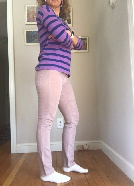 Madewell Mauve Pink Rn77388 Skinny Jeans Size 6 (S, 28) Madewell Mauve Pink Rn77388 Skinny Jeans Size 6 (S, 28) Image 2
