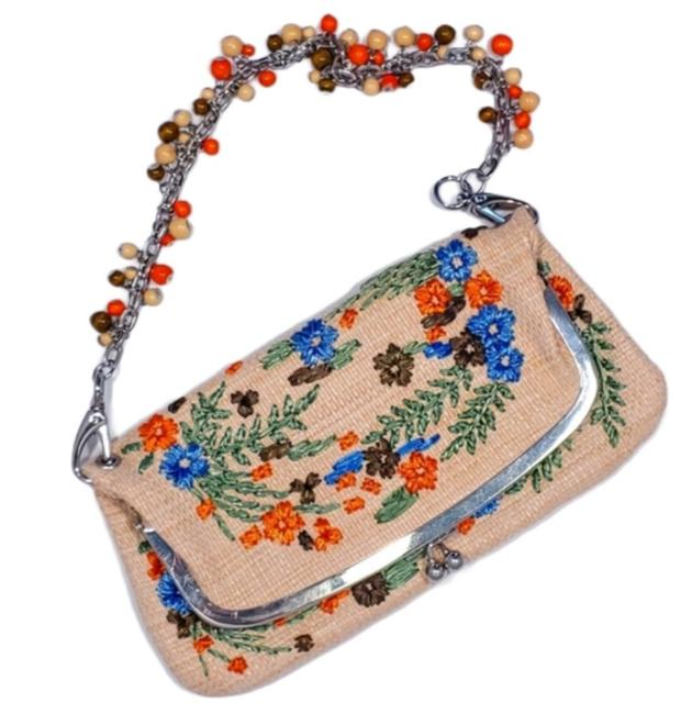 Item - Embroidered Convertible Clutch