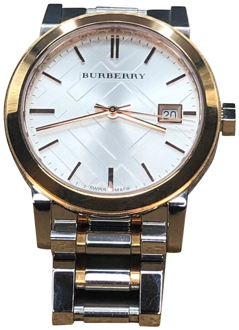 Item - Stainless Steel and Rose Gold Bu9105 Watch