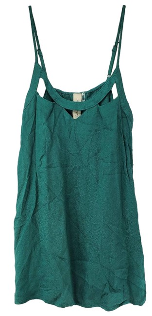Item - Green Allison Joy Small Cami Adjustable Blouse Size 4 (S)