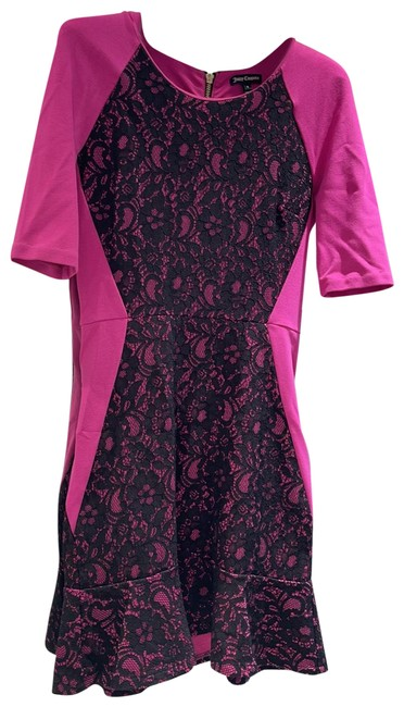 Item - Pink and Blank Short Cocktail Dress Size 0 (XS)