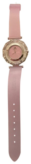 Item - Silver and Pink Crystals Miami Inflight Watch
