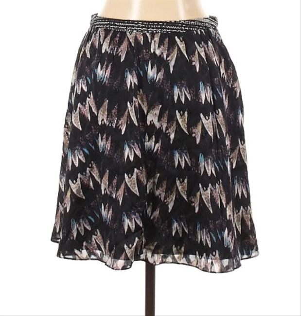 Item - Black White Blue and Pink Skirt Size 10 (M, 31)