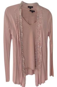 Saks Fifth Avenue Sequin Scalloped Cardigan
