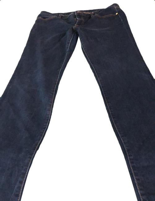 Item - Blue Dark Rinse Straight Leg Jeans Size 12 (L, 32, 33)