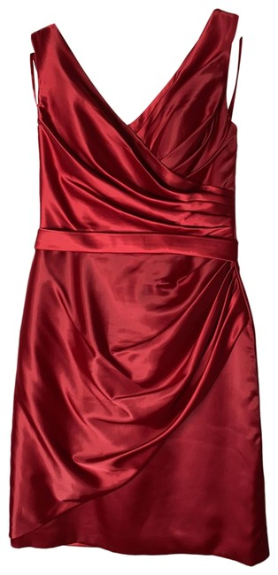 Item - Hot Little Red Number - Red By Mid-length Cocktail Dress Size 10 (M)